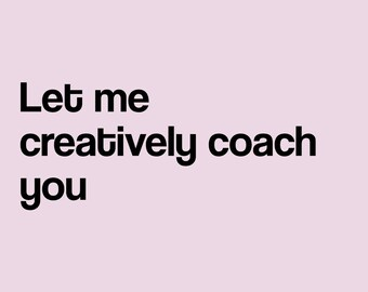 Creative Coaching Service