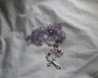 Immaculate Heart of Mary Lavender Rosary