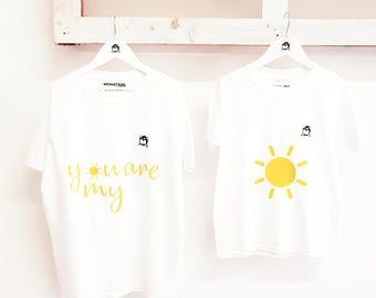 Parent & child T shirts