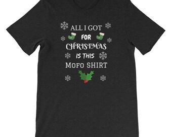 Christmas MOFO Funny Ugly Tee Shirt