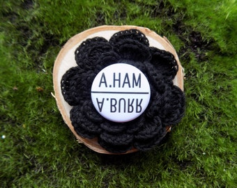 Alexander Hamilton A. Ham A. Burr pin back button / badge / magnet / bow center / accessory !