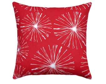 Red Pillow Covers // Red Throw Pillows // Holiday Decor Pillow // Red Decorative Pillow Covers // Christmas Accent Pillow // Red Pillow Case