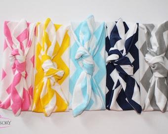 top knot headband - Knotted Headband - baby gift - baby knot headband - Baby Headband - Baby Girl headband - baby turban headband CH01