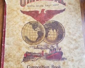Vintage Universal Composition Booklet  no 247