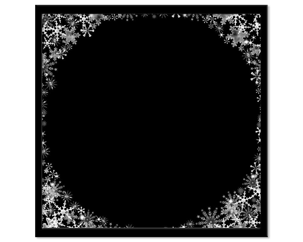 Snowflake background christmas frame overlay digital scrap book snowflake background christmas frame overlay digital scrap book paper photoshop overlays for portraits xmas crafting jeuxipadfo Images