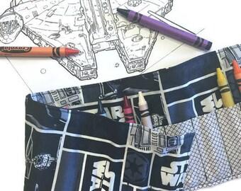 Star Wars Crayon Roll - Blocks