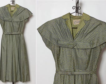 vintage 1940s dress by Cirilo