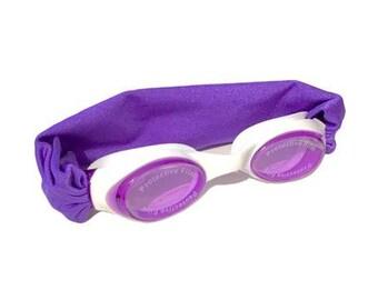 Purple Kids and Adults Splash Swim Goggles