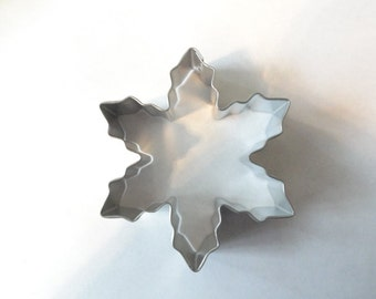 Snowflake Cookie Cutter 4 inches (0976)