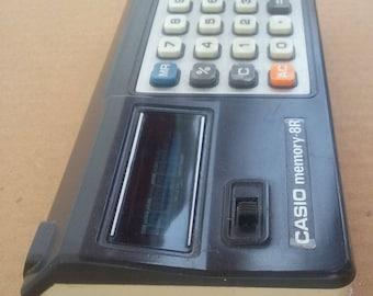 Calculator Casio hand held made Japan