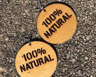 100% Natural Earrings