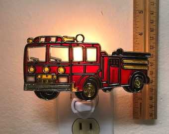 Firetruck Night Light