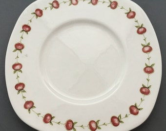 Susie Cooper Applegay Cake Plate