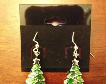 O Christmas Tree Earrings