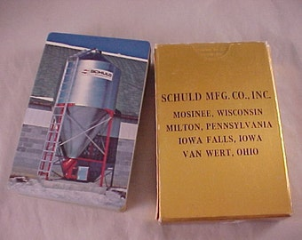 Advertising Playing Cards Schuld Manufacturing Mosinee Wisconsin