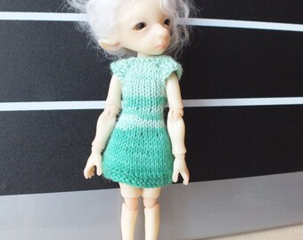BJTales Lidia Snul Mouse BJD doll knitted dress