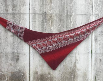 LAVENA shawl knitting pattern PDF