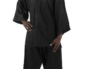 Africa Formal Pant Set - Black
