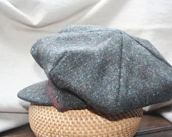 Harris Tweed Newsboy Cap