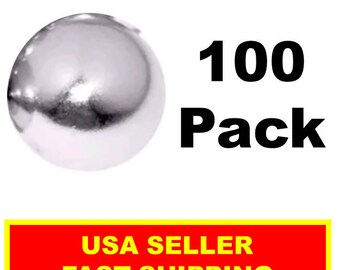 1/2 Inch Super Strong Neodymium Rare Earth Sphere Magnet (100 Pack)