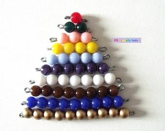 Stairway beads Montessori