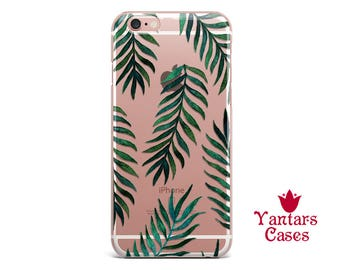 iPhone 7 case Clear iphone 6 case leaves iPhone 8 Plus case Transparent iPhone 6s Plus case iPhone 5 case iPhone 8 case iPhone 7 Plus X case