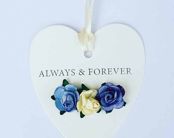 Heart shaped wedding favour gift tags Luxury tags (pack of 10)
