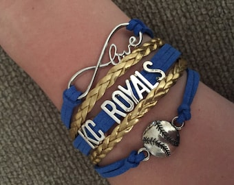 Kansas City Royals Infinity Bracelet