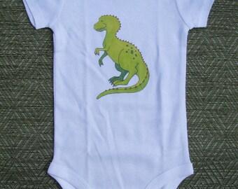 Dinosaur bodysuit, Dino bodysuit, Cute baby bodysuit, Unique baby clothes, TRex, Jurassic Park, Tyrannosaurus Rex