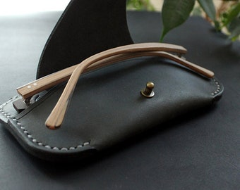 Leather glasses case leather glasses cover  Pattern
