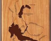 LAKE GRANBY COLORADO Rive...