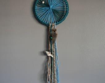 Sea-side Crochet Dream Catcher