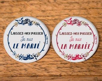 Badges for groom