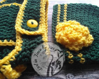 Green Bay Packers Newborn Set