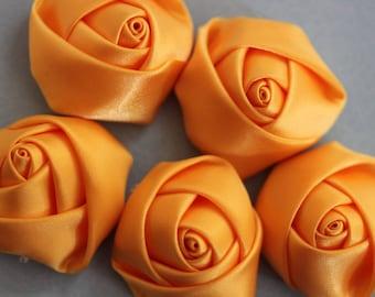 Flower yellow Rosebud fabric scrapbooking