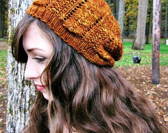 Sea Urchin Knitted Hat Pattern