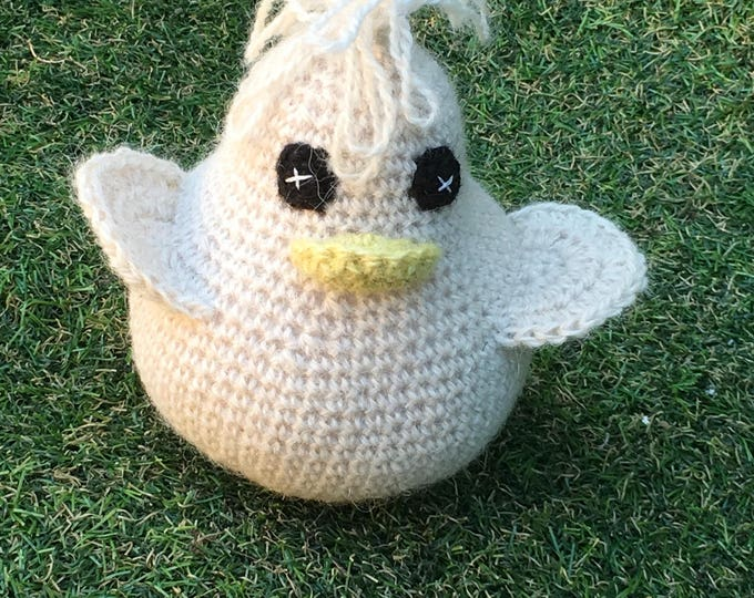 Featured listing image: Crochet duck kit