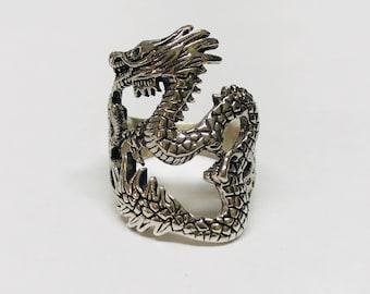 Ring silver 925 Dragon Rilver ring