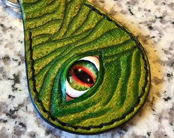 Green Monster Key Fob