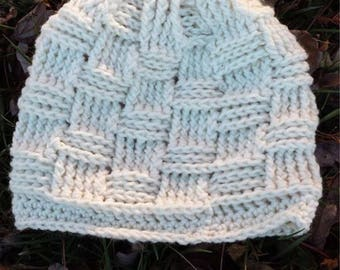 Basketweave Crochet Hat