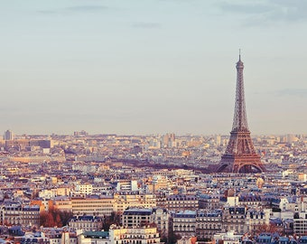 "Eiffel Tower in Spring, Paris Wall Art Print, Paris Print, Travel Photography Print, Paris Skyline, Wall Decor ""Overture"""