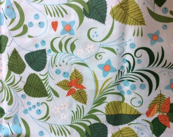 American Moda cotton for abric, vintage print