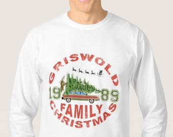 PRINTABLE Christmas Vacation inspired T-shirt Logo Transfer - INSTANT DOWNLOAD - Digital File - Griswold Family, Sweater, T-shirt, Gifts