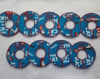the cat in the hat closet divider set