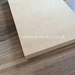 Blank MDF Board A4 size - Ideal for Crafts, Arts or etching