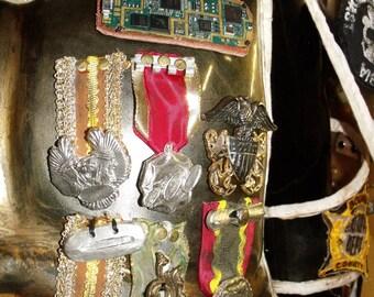 Mad Max - Fury Road  - Immortan Joe Full Metal Badges / Medals