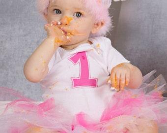 Baby Girls Birthday, 1st Birthday, Cake Smash Outfit, Pink Birthday, Birthday Tutu, Birthday Outfit, By Sweetpeas Bows & More