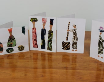 Working Women Greeting Cards
