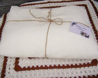 White linen Duvet cover, Eco friendly bedding, Linen bedding, Queen King size, Pure flax. Duvet cover, Duvet