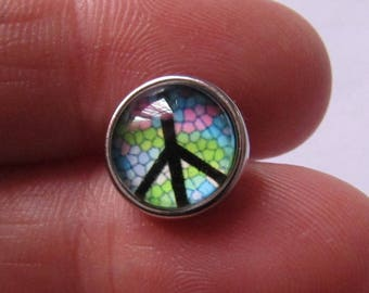 snap 12mm peace theme